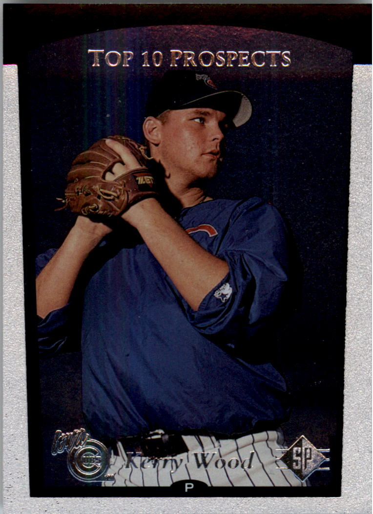 1998 SP Top Prospects #4 Kerry Wood T10