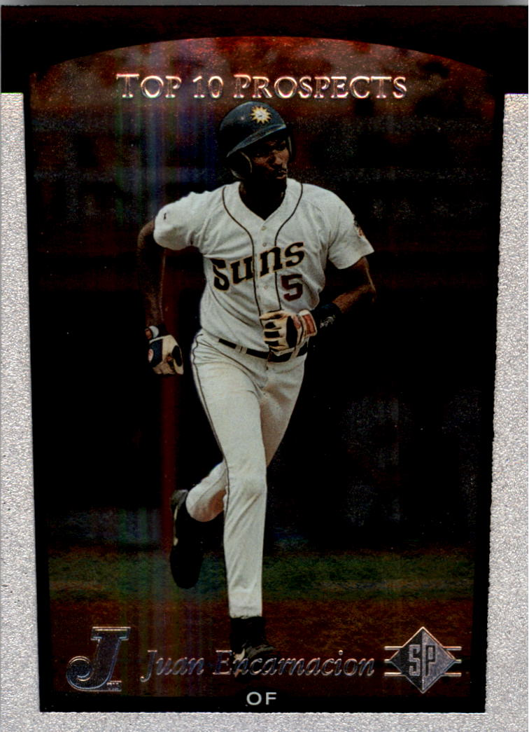 1998 SP Top Prospects #6 Juan Encarnacion T10