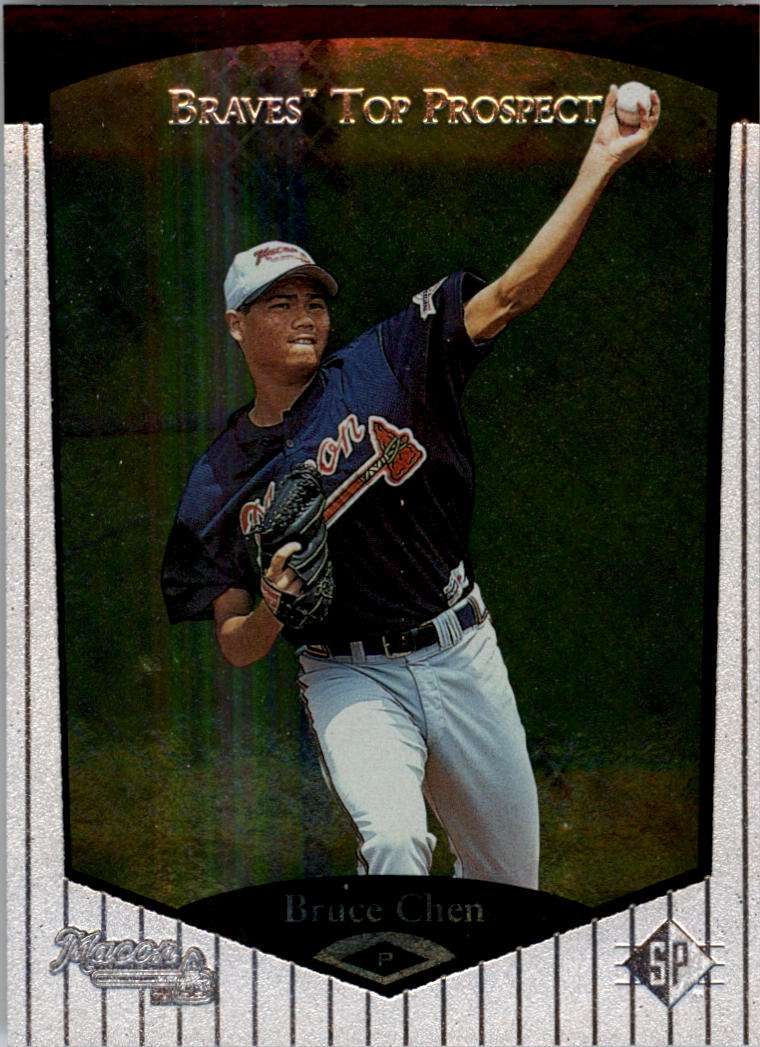 1998 SP Top Prospects #22 Bruce Chen