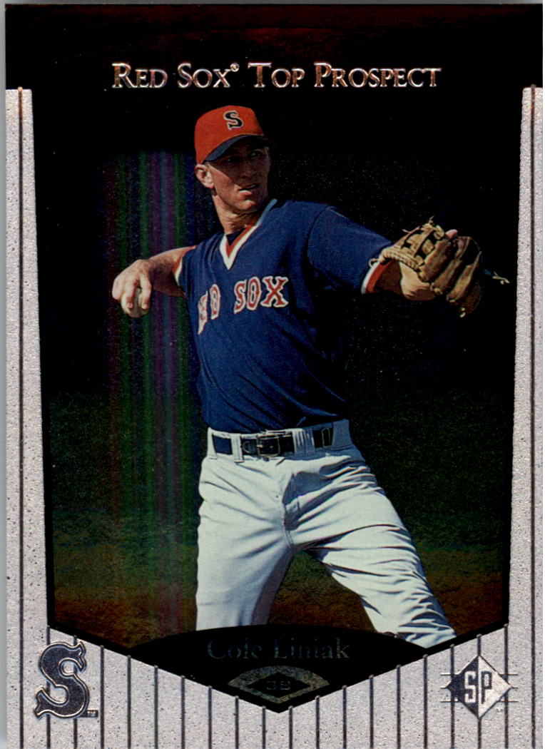 1998 SP Top Prospects #29 Cole Liniak