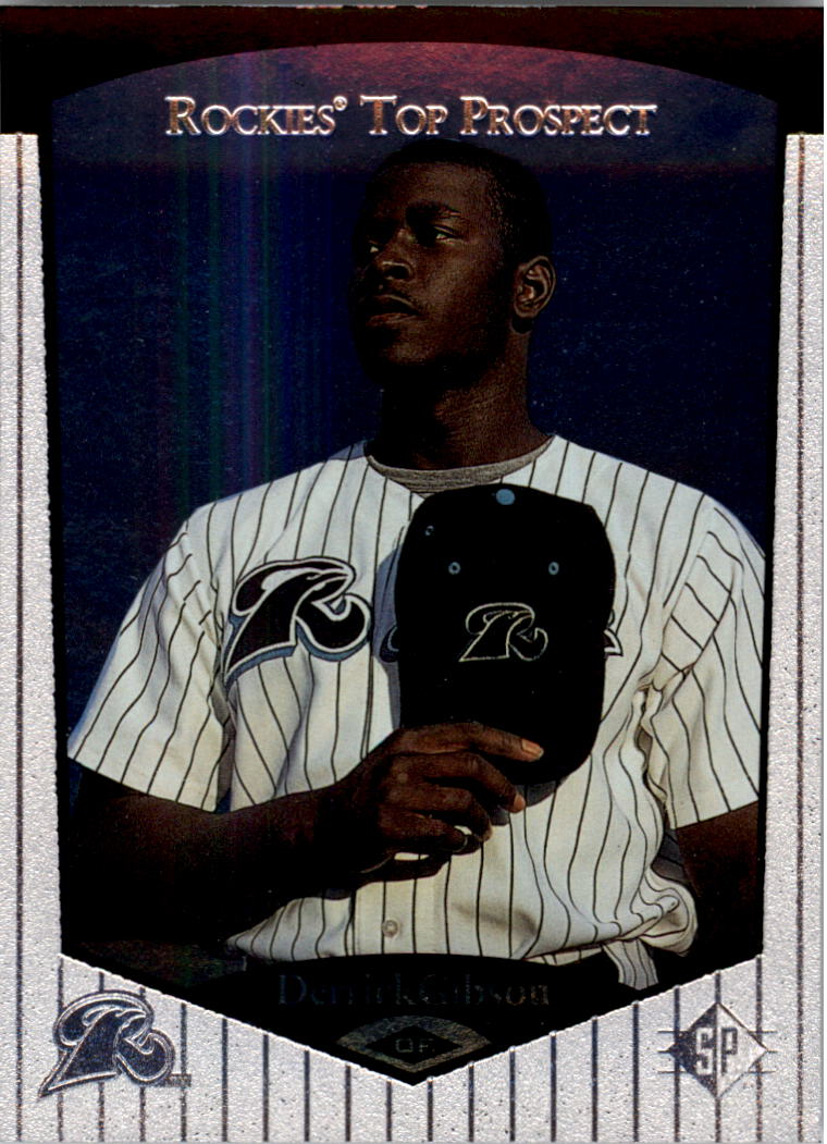1998 SP Top Prospects #50 Derrick Gibson