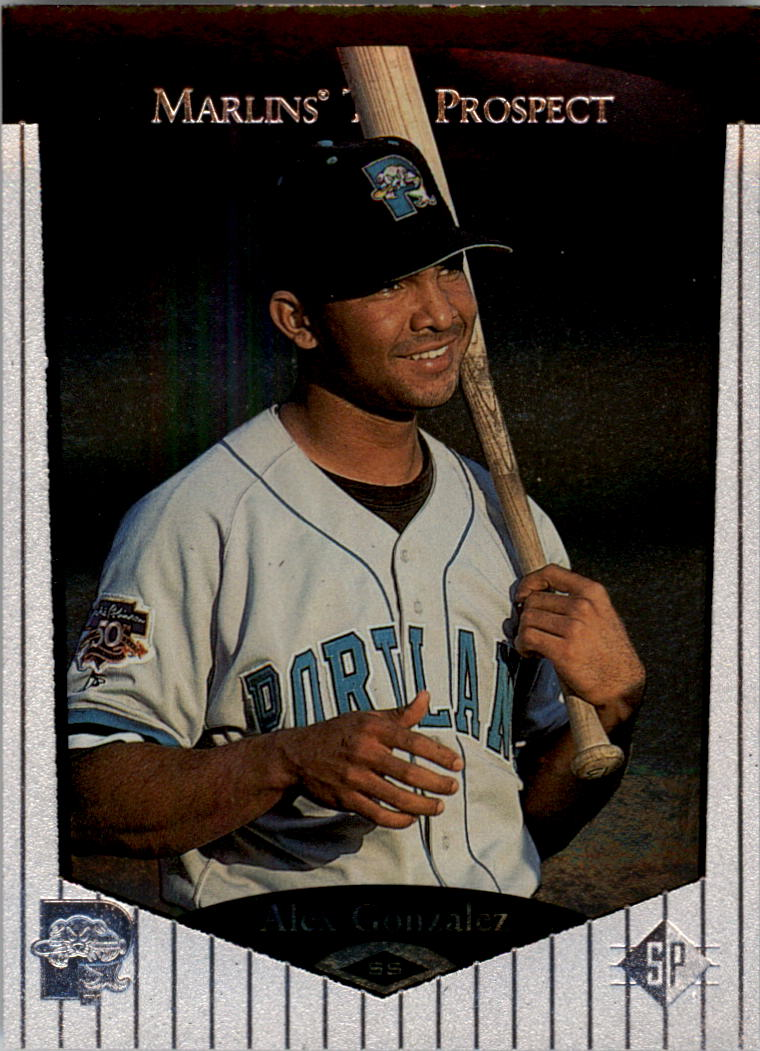 1998 SP Top Prospects #60 Alex Gonzalez
