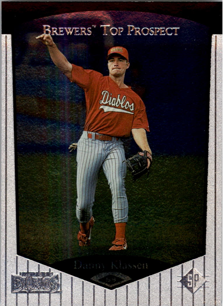 1998 SP Top Prospects #72 Danny Klassen