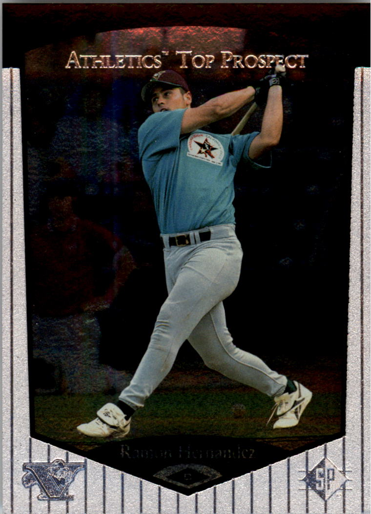 1998 SP Top Prospects #93 Ramon Hernandez