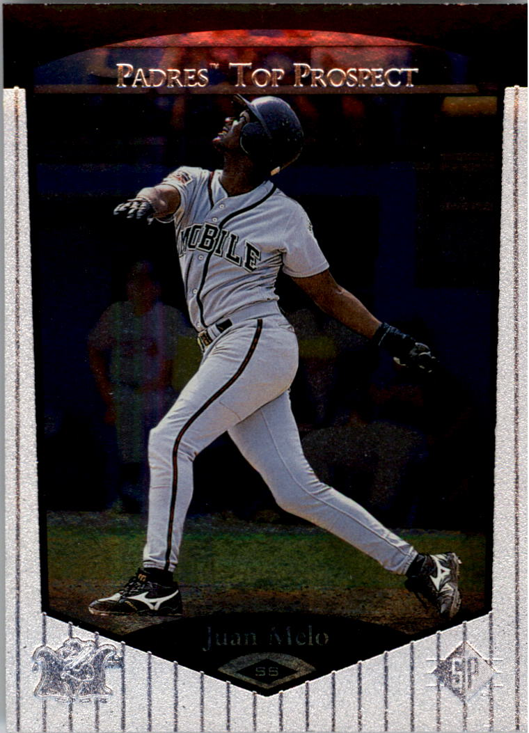 1998 SP Top Prospects #106 Juan Melo