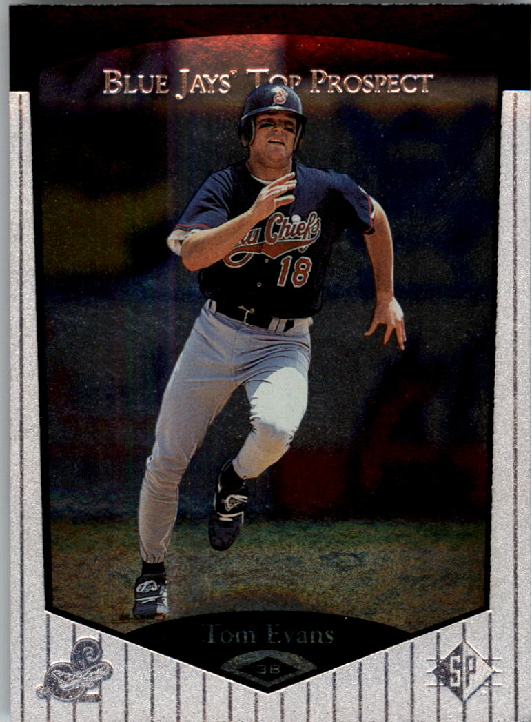 1998 SP Top Prospects #126 Tom Evans