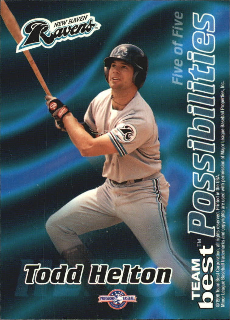 1998 Best Possibilities #5 K.Wood/T.Helton