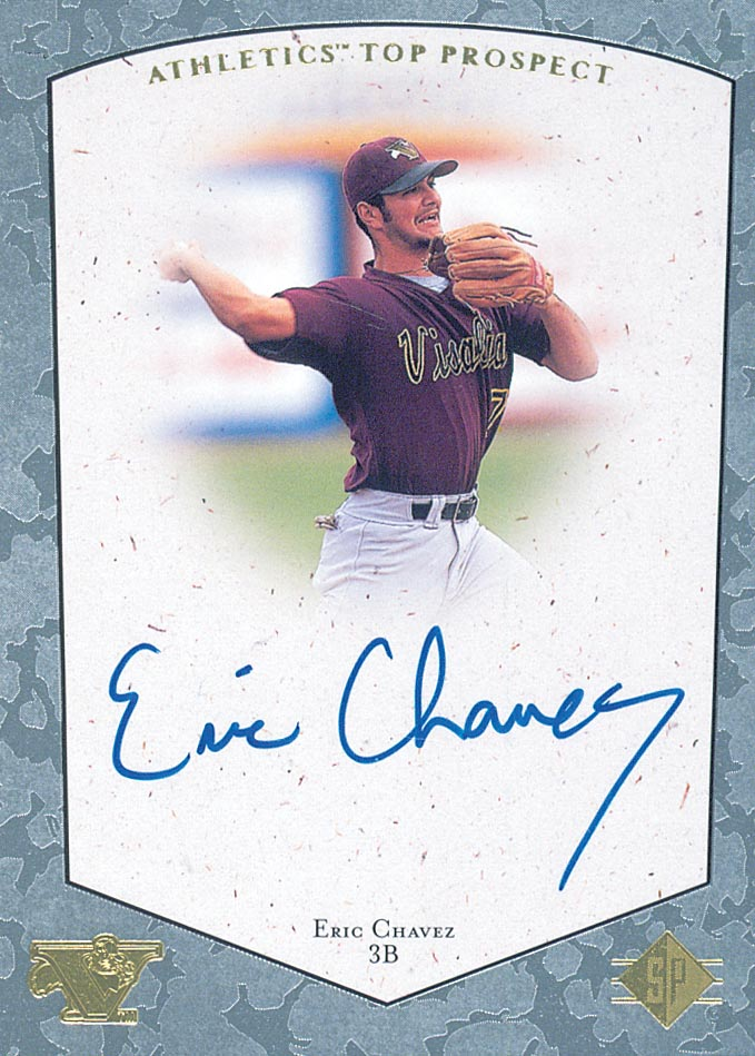 1998 SP Top Prospects Autographs #EC Eric Chavez