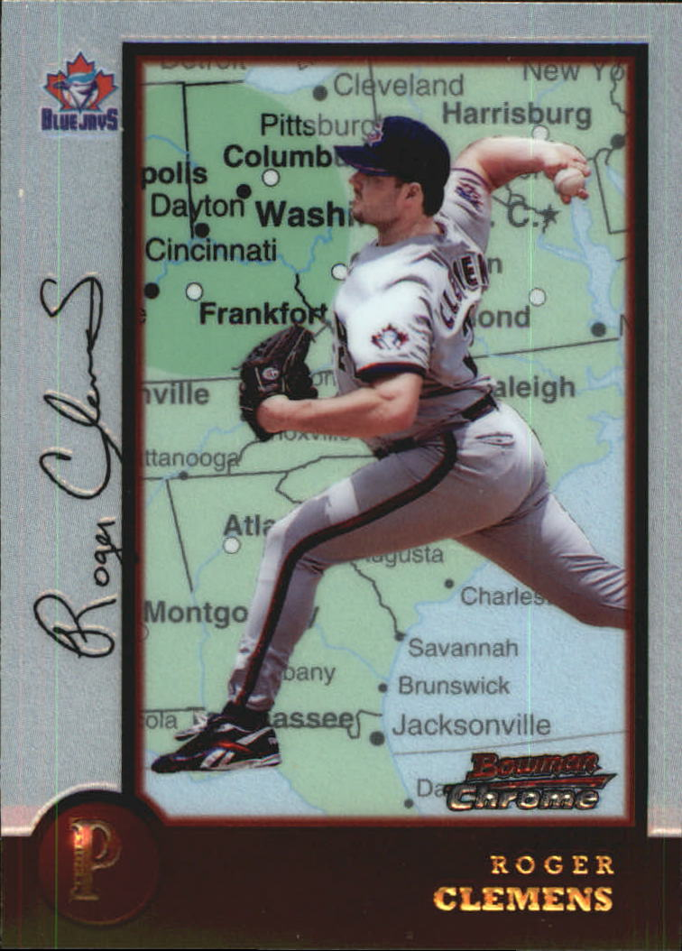 1998 Bowman Chrome International #38 Roger Clemens