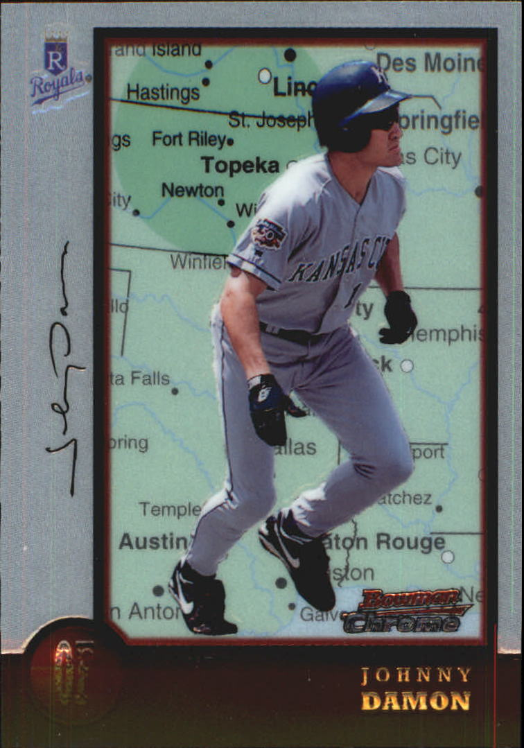 1998 Bowman Chrome International #65 Johnny Damon