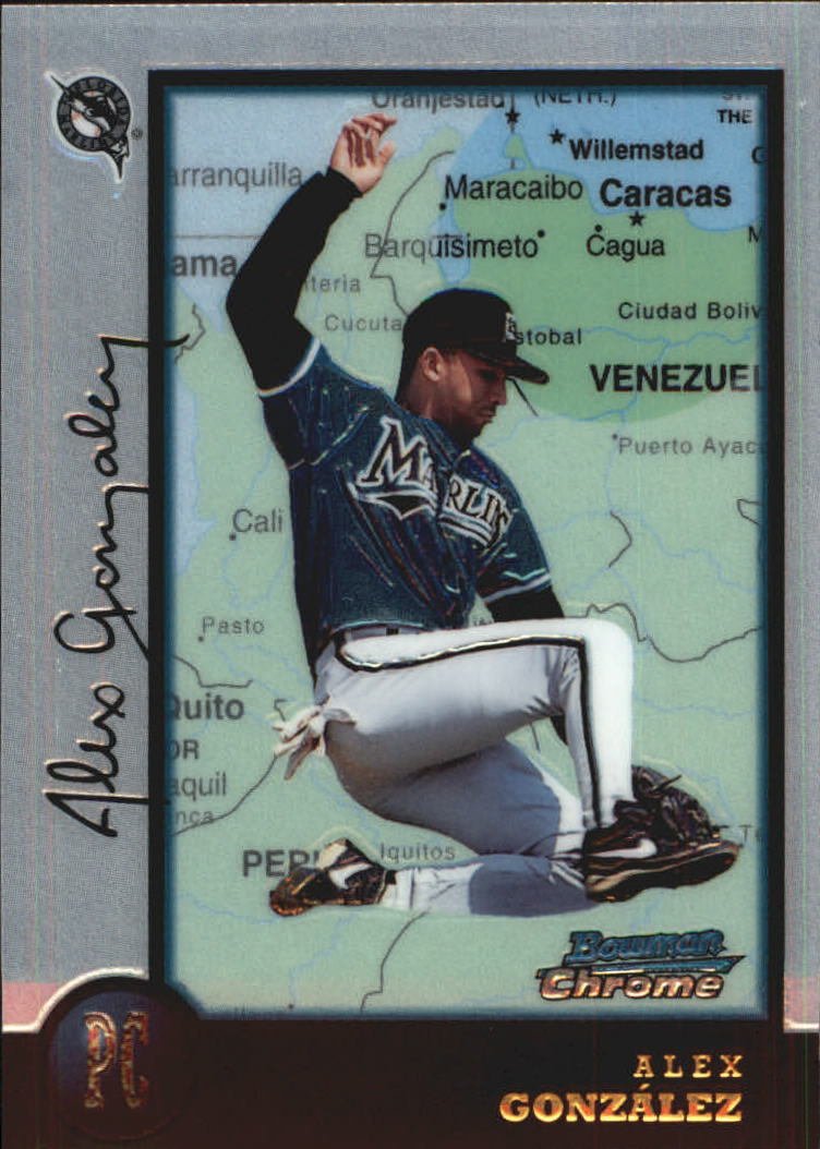 1998 Bowman Chrome International #73 Alex Gonzalez