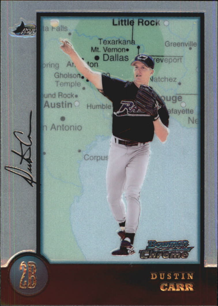 1998 Bowman Chrome International #217 Dustin Carr