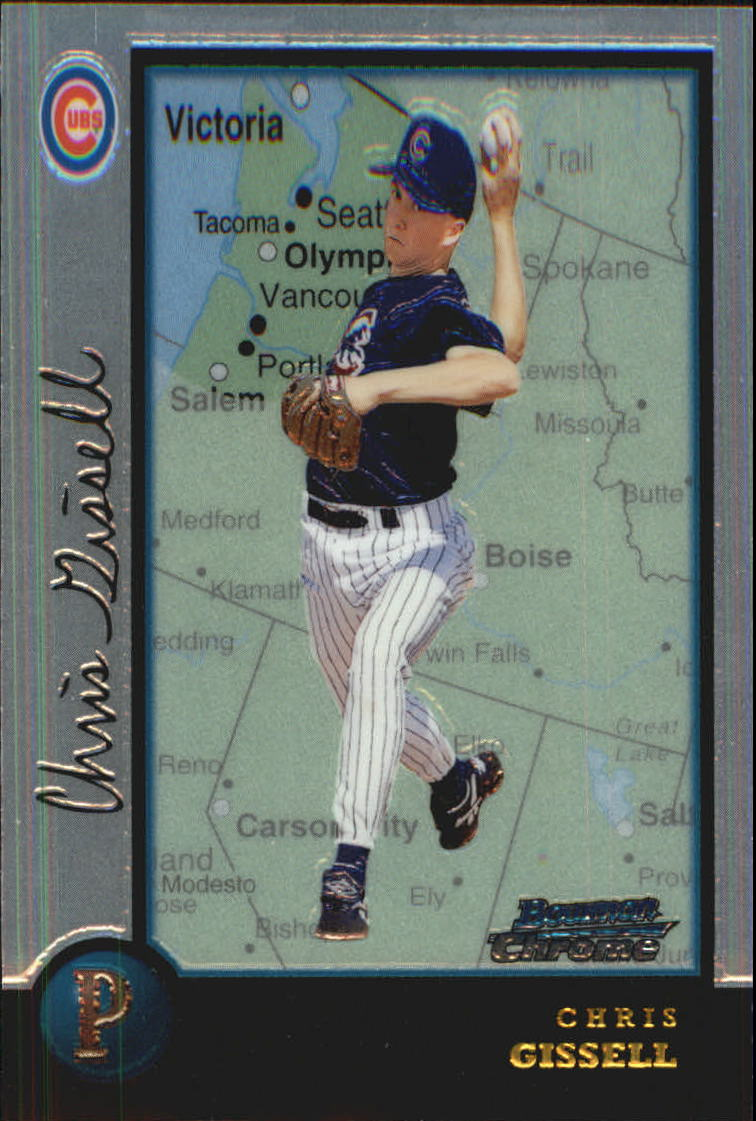 1998 Bowman Chrome International #305 Chris Gissell