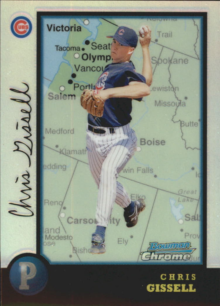 1998 Bowman Chrome International Refractors #305 Chris Gissell