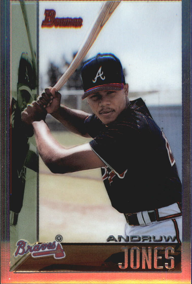 1998 Bowman Chrome Reprints #42 Andruw Jones