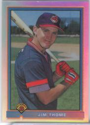 1998 Bowman Chrome Reprints Refractors #33 Jim Thome