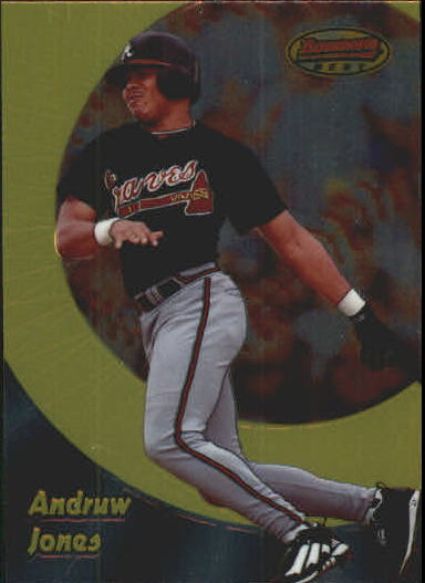 1998 Bowman's Best #78 Andruw Jones