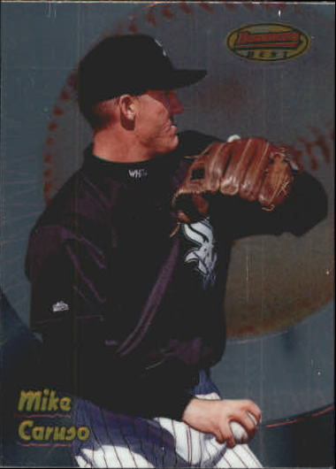 1998 Bowman's Best #116 Mike Caruso