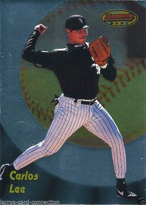 1998 Bowman's Best #154 Carlos Lee RC