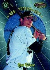 1998 Bowman's Best Performers #BP1 Ben Grieve