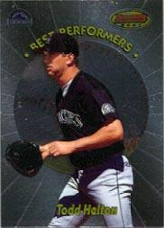 1998 Bowman's Best Performers #BP4 Todd Helton