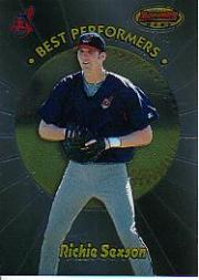 1998 Bowman's Best Performers #BP8 Richie Sexson