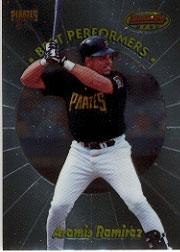 1998 Bowman's Best Performers #BP9 Aramis Ramirez