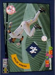 1998 Collector's Choice Stick 'Ums #19 Derek Jeter