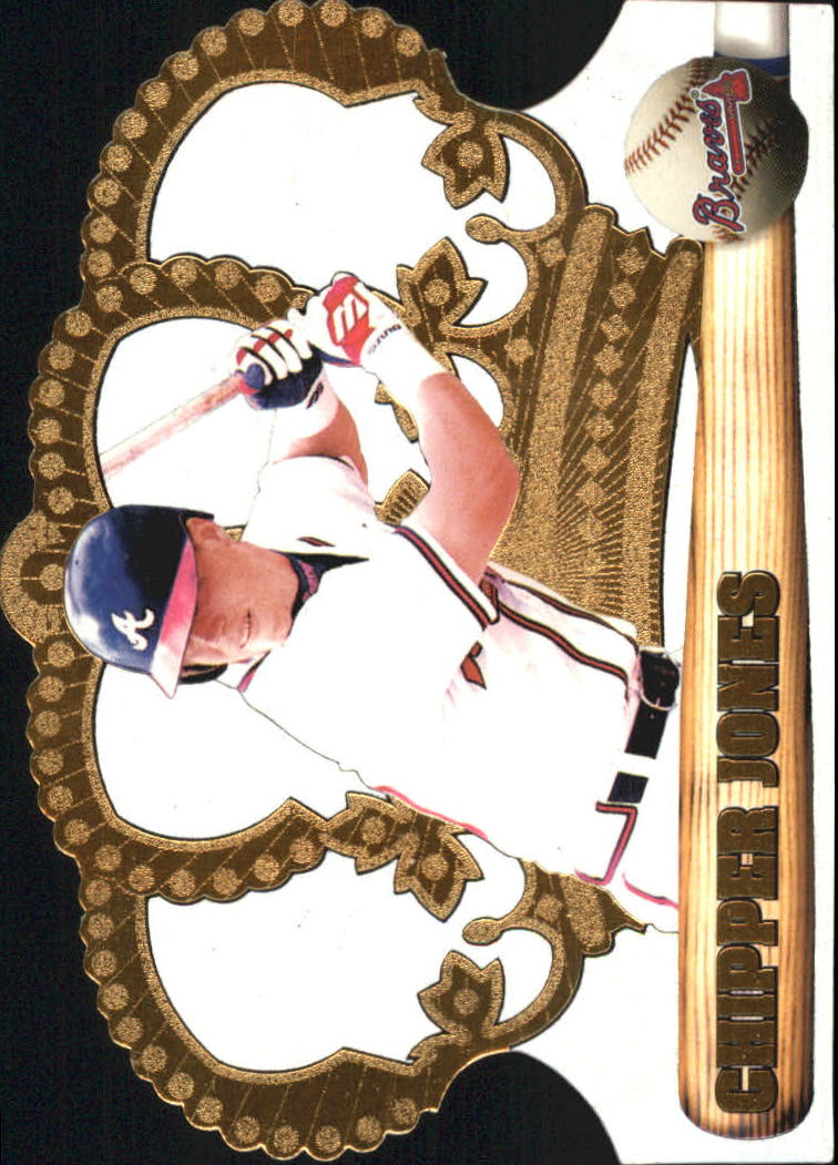 1998 Crown Royale #13 Chipper Jones