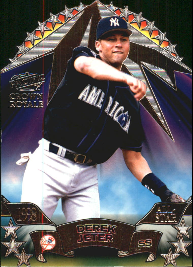 1998 Crown Royale All-Stars #5 Derek Jeter