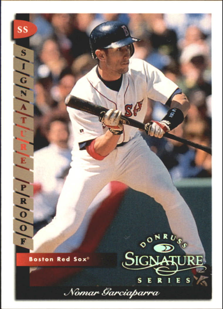 1998 Donruss Signature Proofs #3 Nomar Garciaparra
