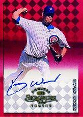 1998 Donruss Signature Autographs #98 Kerry Wood/3400*