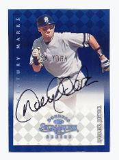 1998 Donruss Signature Autographs Century #63 Derek Jeter