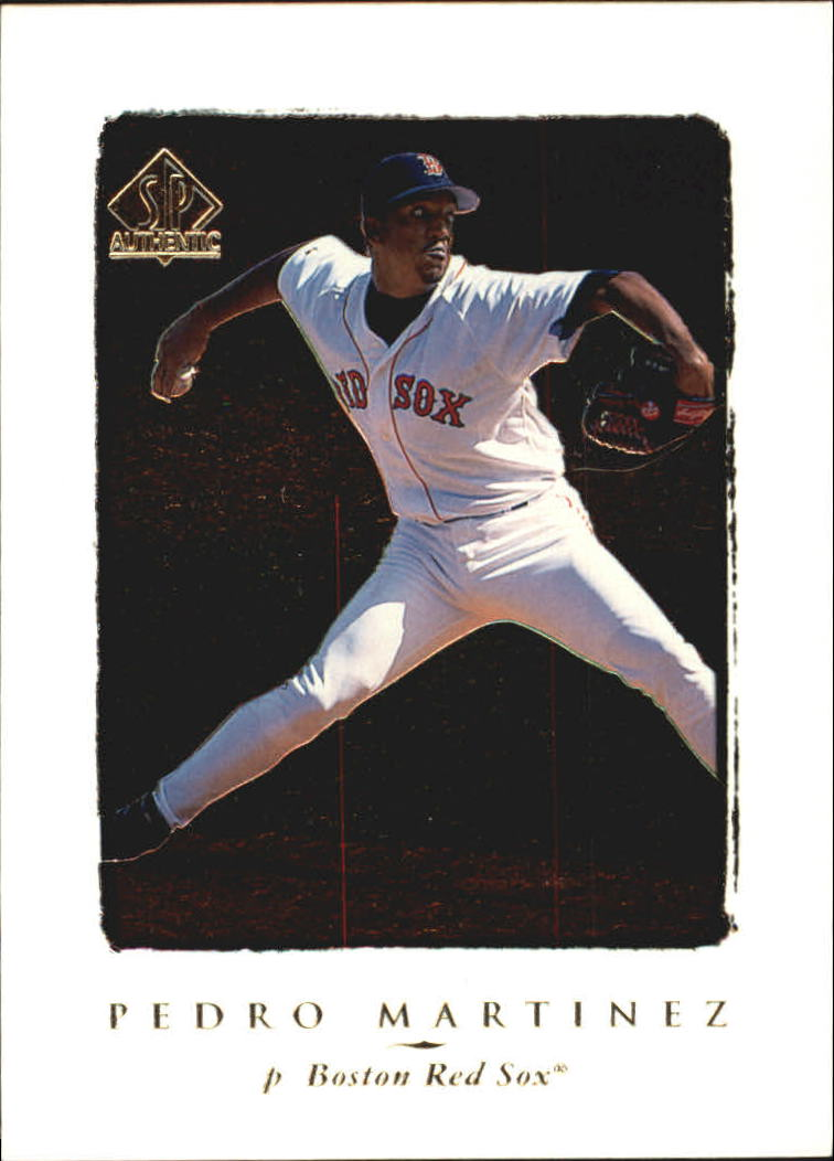 1998 SP Authentic #61 Pedro Martinez