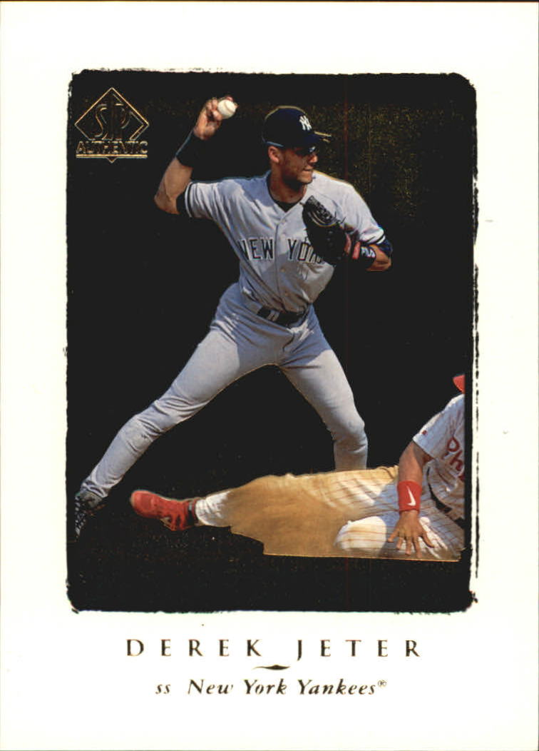 1998 SP Authentic #145 Derek Jeter