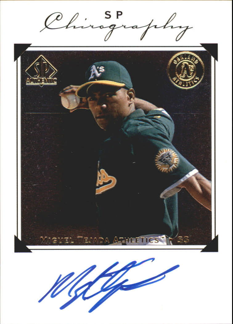 1998 SP Authentic Chirography #MT Miguel Tejada