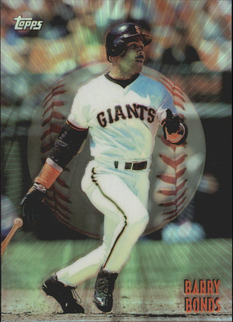 1998 Topps Mystery Finest Borderless Refractors #M19 Barry Bonds