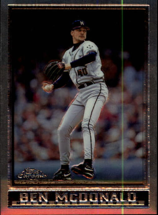 1998 Topps Chrome #55 Ben McDonald