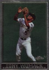 1998 Topps Chrome #105 Tony Womack