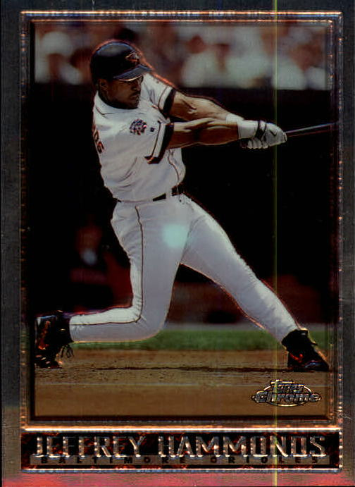 1998 Topps Chrome #107 Jeffrey Hammonds