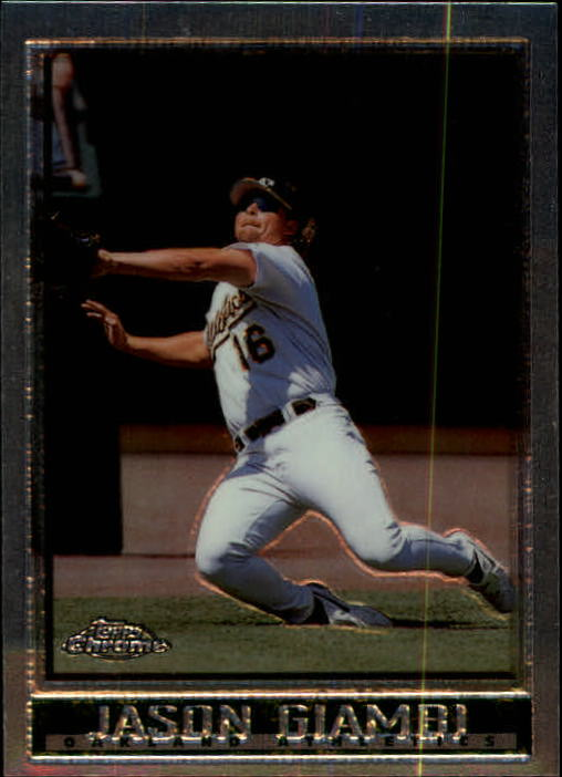 1998 Topps Chrome #176 Jason Giambi