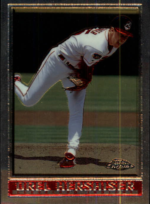 1998 Topps Chrome #179 Orel Hershiser