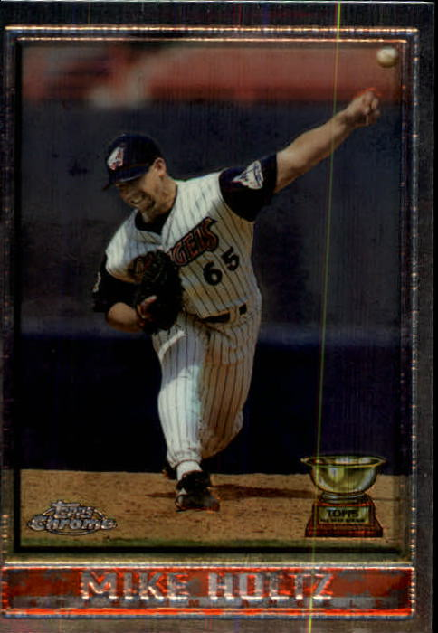1998 Topps Chrome #185 Mike Holtz
