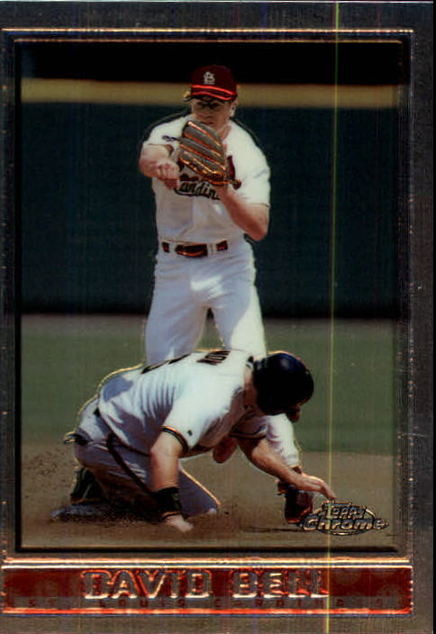1998 Topps Chrome #213 David Bell