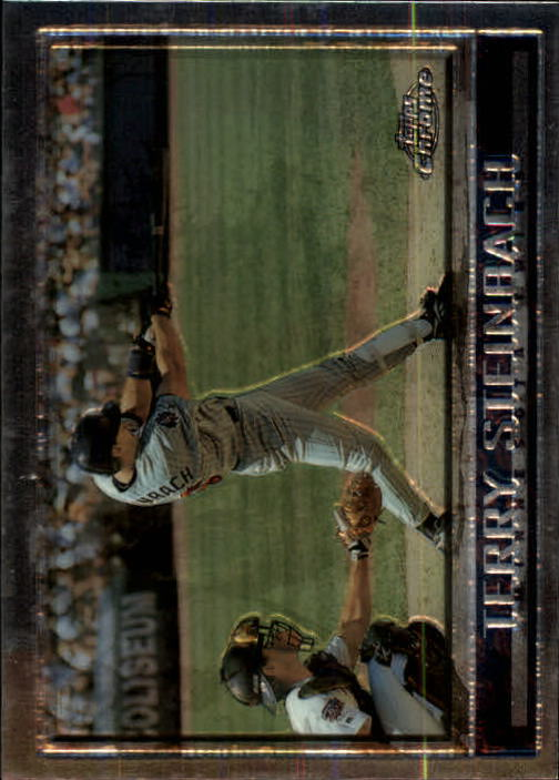 1998 Topps Chrome #230 Terry Steinbach