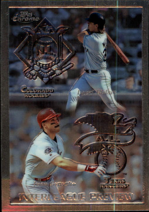 1998 Topps Chrome #482 L.Walker/J.Gonzalez IL