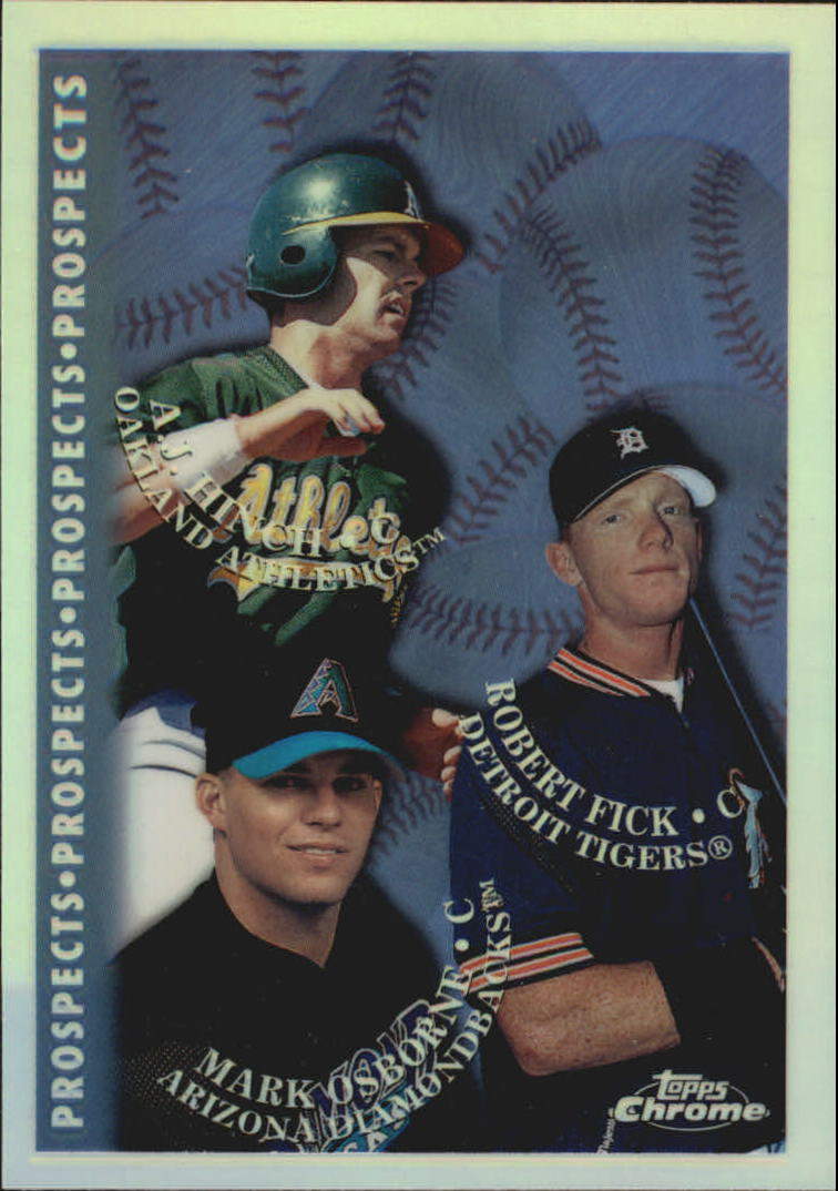1998 Topps Chrome Refractors #487 Rob Fick
