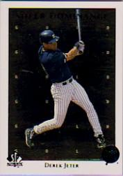 1998 SP Authentic Sheer Dominance Gold #SD41 Derek Jeter front image