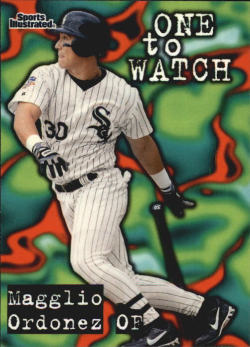 1998 Sports Illustrated #155 Magglio Ordonez OW RC