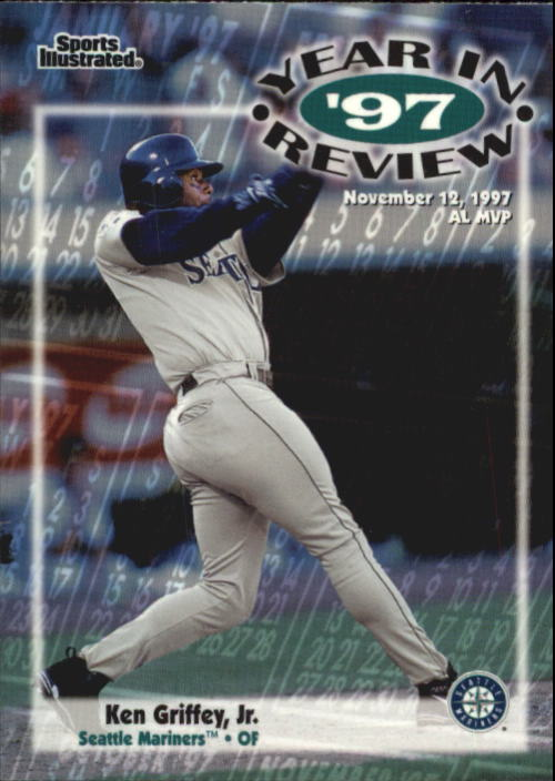 1998 Sports Illustrated #191 Ken Griffey Jr. '97